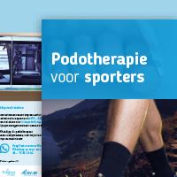Folder Sportpodotherapie