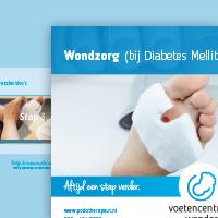 Folder Wondzorg Podotherapie