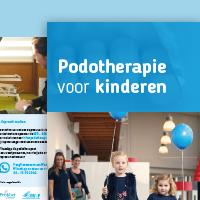 Folder Podotherapie Kinderen