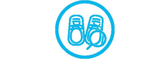 Inspecteer de schoenen grondig